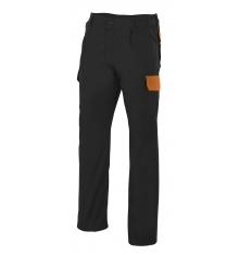 Pantalón bicolor multibolsillos