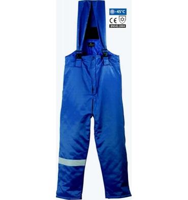 PANTALON BEAVER PANTS, anti frio poliéster/algodón azul