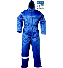 BUZO 57619 BEAVER COMB, anti frio poliéster/algodón azul