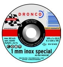 DISCO CORTE METAL AS-60-T-INOX