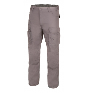 Pantalon canvas multibolsillos