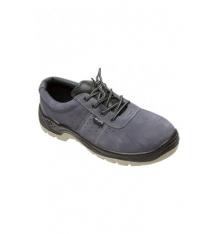 Zapato de serraje con plantilla y puntera de acero s1p src