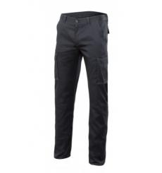 Pantalón forrado stretch multibolsillos