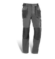 Pantalón largo multibolsillos de 68% algodón, 30% poliester y 2% elastano