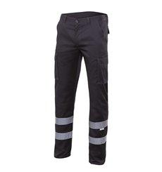 Pantalón con cintas stretch multibolsillos