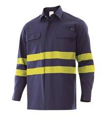 Camisa ignífuga alta visibilidad